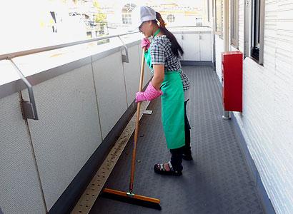 共用部の定期清掃