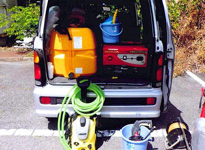 清掃用具・高圧洗浄機